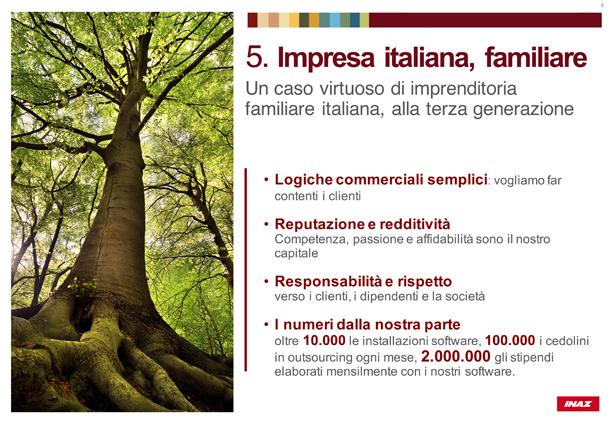 Impresa italiana, familiare