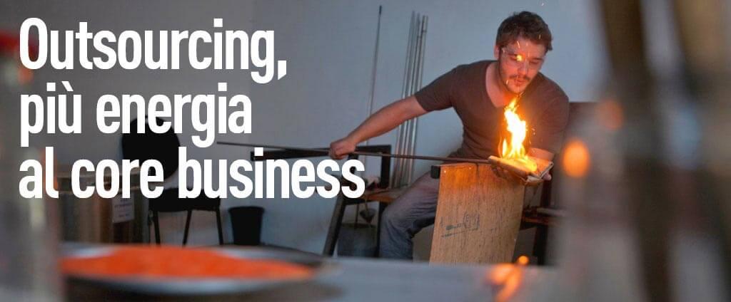 Outsourcing, più energia al core business